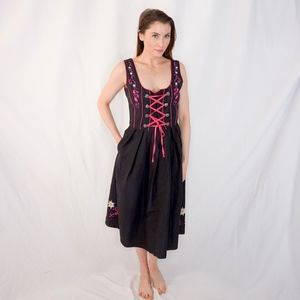 EDELWEISS CREEK Drindl Midi Dress 0826